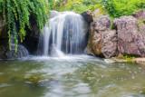 Waterfall Garden, Chicago Botanic Garden, Glencoe, IL