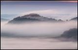 Early morning fog near Foradada
