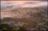 Morning fog at Montsonis