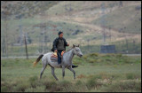 Azerian Horseman - Besh Barmaq