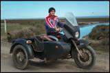Motorcycle Boy at Baliqcilar - Caspian Sea