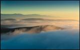 Early morning view from Castillo de Monfrague - Spain