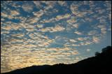 Evening sky in Azerbajijan