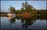 Ångaren (Steamboat) Thor at Kronoberg - Växjö