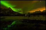 Northern Light near Svolvaer