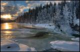 Svenningelva -16 degrees Celcius - Norway (HDR)