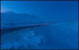 Saltfjellet at dusk - minus 20 degrees Celcius