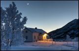 Extreme frost near Austre Kanstad - Lofoten (HDR)