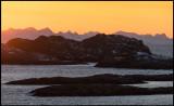 Henningsvaer just before sunrise (10:15 AM !!)