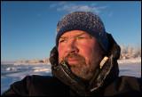 Selfie in -23 degrees Celcius - Kaalasluspa Kiruna