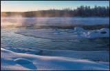 Morning light at Kaalasluspa - Kiruna