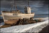 Old fishing vessel Bølgen in Vestre Jacobselv