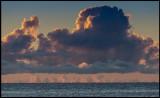 Early morning clouds near Gräsgård (Baltic Sea)