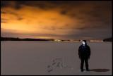 Night photography together with my son Martin - Toftasjön Sandsbro