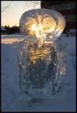 Ice Owl - Kalix winter exhibition
