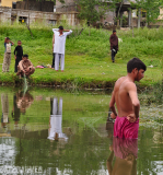 fishing in Sandowa cross