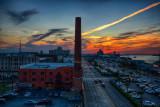 Harbor Side Sunset