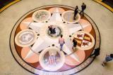 Rotunda floor