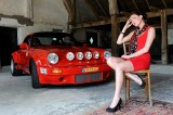 2014 Porsche and models shoot