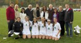 Seton girls varsity vs Owego 10-08-2014 Senior Night