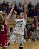 Seton girls varsity basketball vs Verona 11-28-2015