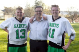 Seton boys varsity lax Senior Night 05-2016