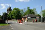 Caravan Club Site Entrance