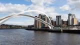 Gateshead Millennium Bridge - Open