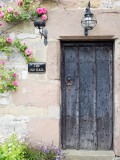 Door to the Old Hall, Youlgreave