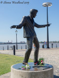 Billy Fury Sculpture, Liverpool