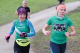 Two ladies battling at Graves parkrun