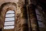 vitraux de Soulages à Conques