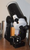 Skywatcher 180mm Mak on Celestron Ultima fork mount