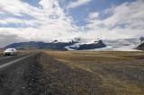 Roadside glacier
