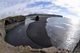 Black sand beach, Dyrhólaós