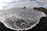 Foamy ocean