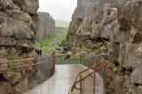 Pingvellir National Park: where the American and European continental plates tear apart