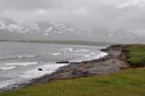 Bad weather on Skagafjördurnd