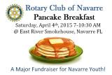 APR 2015 Rotary Club of Navarre Pancake Breakfast