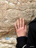 oracion en el muro de los lamentos...Jerusalem