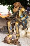 Bronze Busker