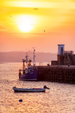 Skerries Harbour Sunset