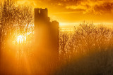 Ruined Castle Sunset
