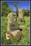 Ireland - Co.Fermanagh - Boa Island - Pagan carving
