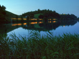 Rotsee at night