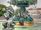 Fountain in Lissabon