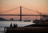 Ponte 25 de Abrill in Lissabon