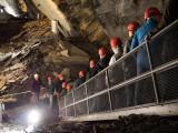 The preserved Landesplattenberg slate mine