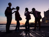 Sunset photosession in Lissabon