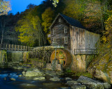 Grist Mill, Painted With Light 1